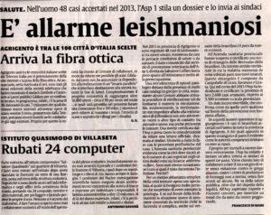 leishmaniosi